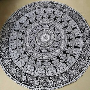 Other - Round Elephant Mandala beach cover up/tapestry